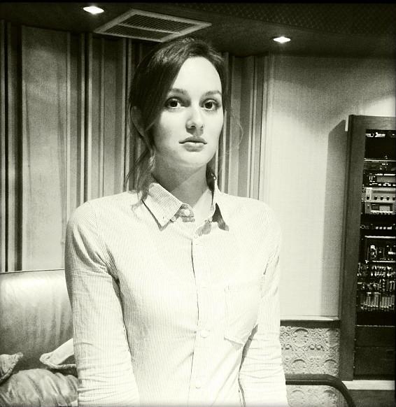 Leighton Meester in una foto posata sui social