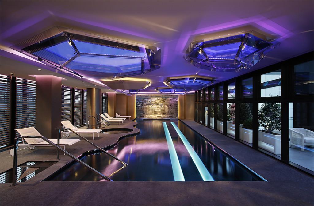 Shiseido Spa Milan all'Excelsior Hotel Gallia, i locali sono stati studiati dallo Studio Marco Piva