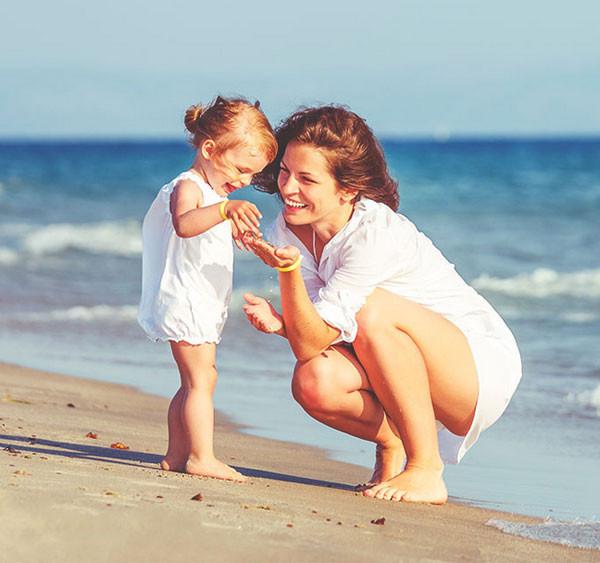 Evita Sun Indicator aiuta le pelli chiarissime, molto chiare e chiare a proteggersi dal sole