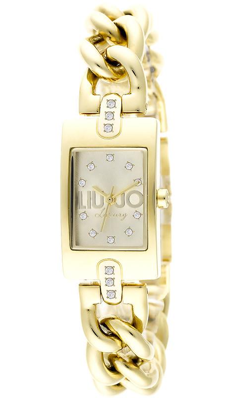 Kira_ Oro E' moderno, segna il tempo senza tempo e il quadrante rettangolare esalta uno charme dall'anima multiforme: un bracciale, un orologio, un accessorio, con un'allure delicatamente vintage.