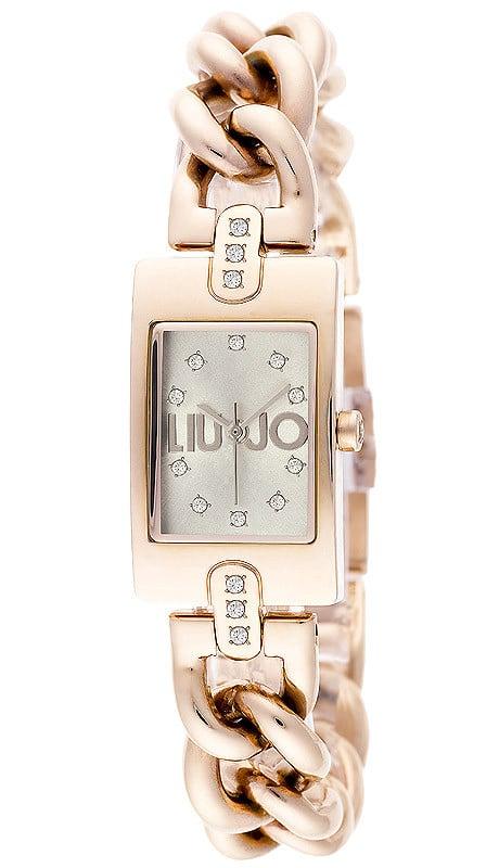 Kira_Oro Rosa E' moderno, segna il tempo senza tempo e il quadrante rettangolare esalta uno charme dall'anima multiforme: un bracciale, un orologio, un accessorio, con un'allure delicatamente vintage.