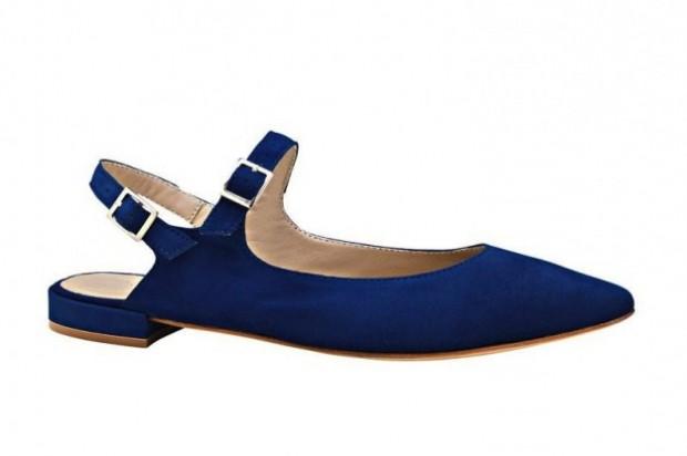 Sandalo in suede basso con cinturini AGL-Attilio-Giusti-Leombruni