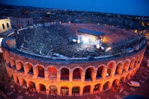 Una vista suggestiva dell'Arena, anche ques'anno sede dei WMA