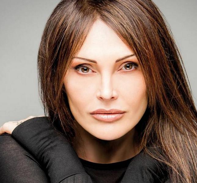 La cantante Anna Oxa