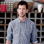 Calvin Harris con camicia a quadri