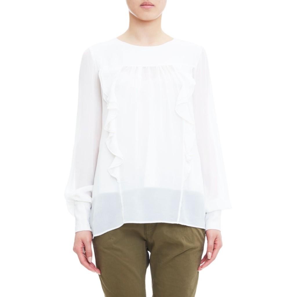 Camicia con ruches Manila Grace