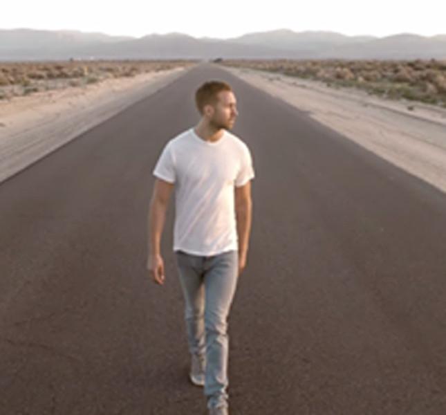 Calvin Harris e il suo nuovo look
