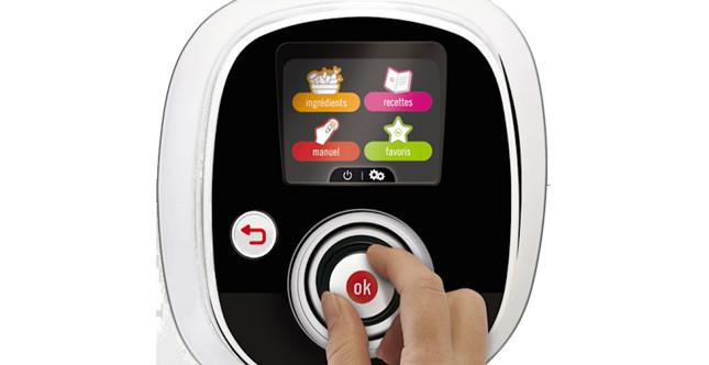 comandi digitali che possono essere usati anche manualmente, Immagine da: cookeo.moulinex.fr