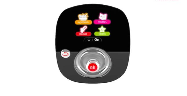 quadro digitale con guida interattiva semplice ed immediata, Immagine da: cookeo.moulinex.fr
