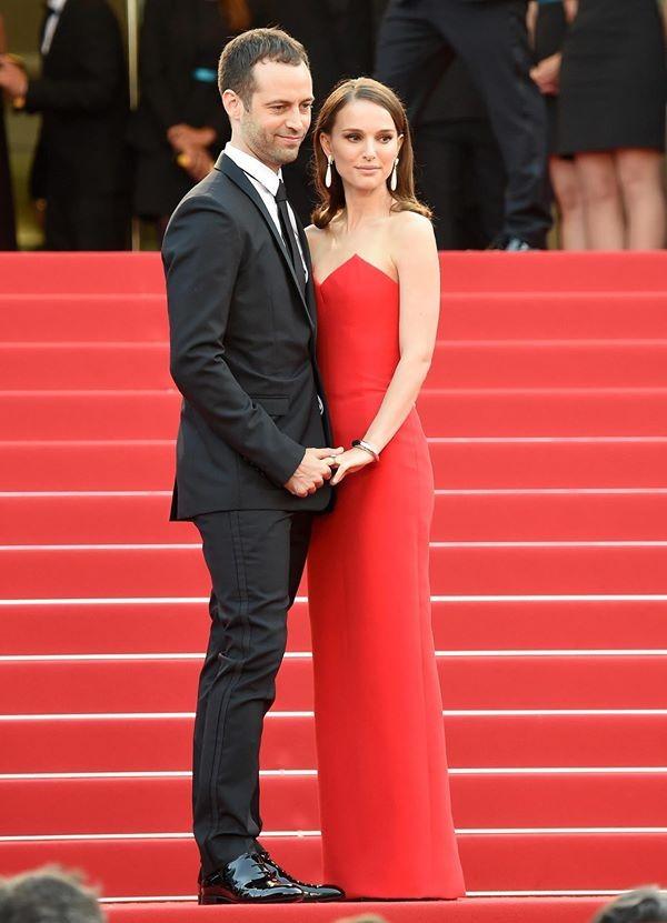 Natalie Portman e Banjamin Millepied impeccabili in Dior