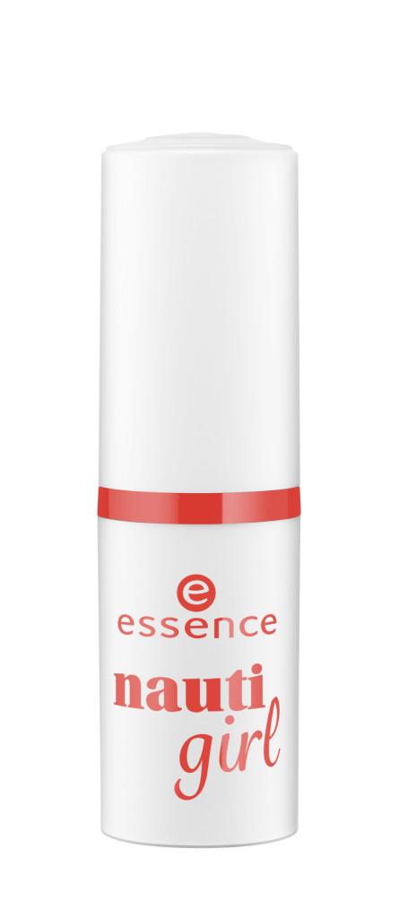 essence nauti girl – rossetto labbra lunga durata Disponibile nelle versioni: #01 miss navy Prezzo: 2,89€*.