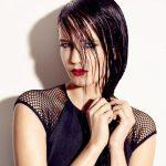 Labbra rosso fuoco per Eva Green