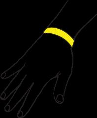 Evita Sun Indicator al principio è giallo