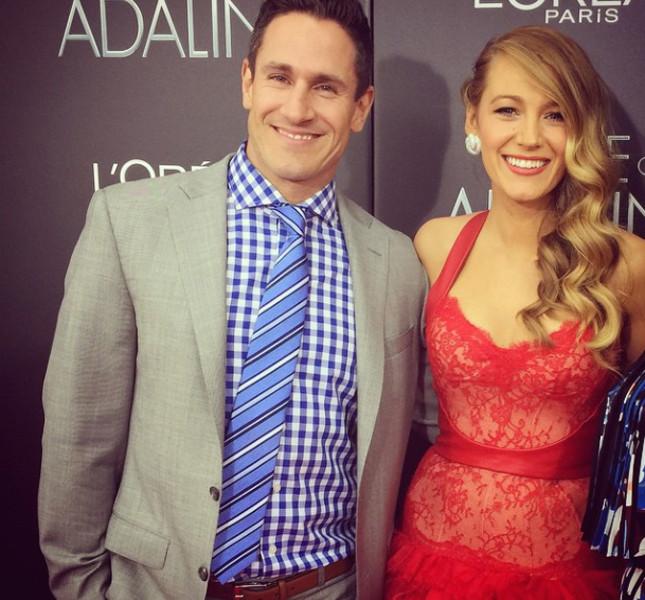 Blake Lively alla premiere di Adeline