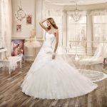 nicole spose collezione 2016 in pizzo e perline