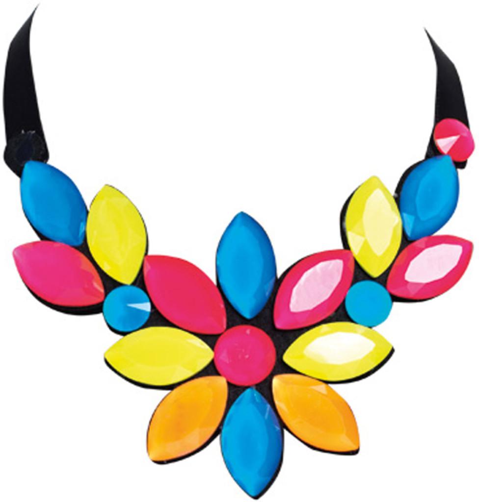 Collana con pietre multicolore_Primadonna