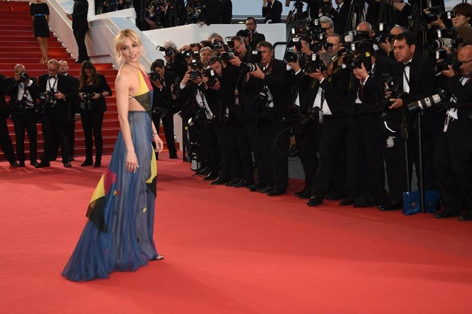 Sienna Miller in Valentino