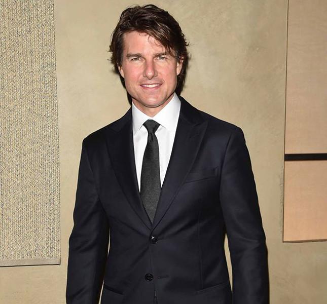 Tom Cruise al party per Giorgio Armani