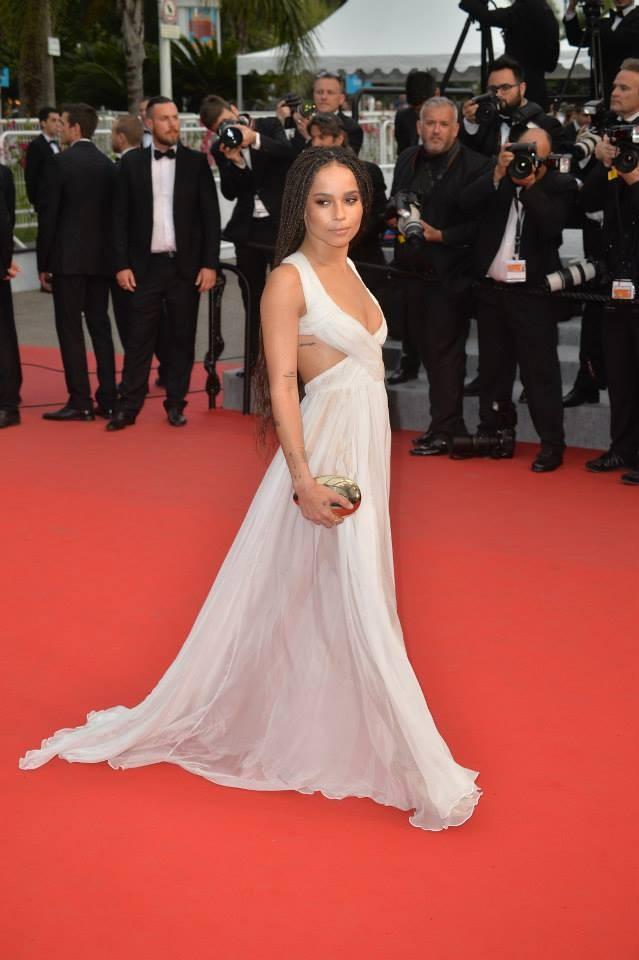 Zoe Kravitz sceglie Valentino, ma sbaglia abito...