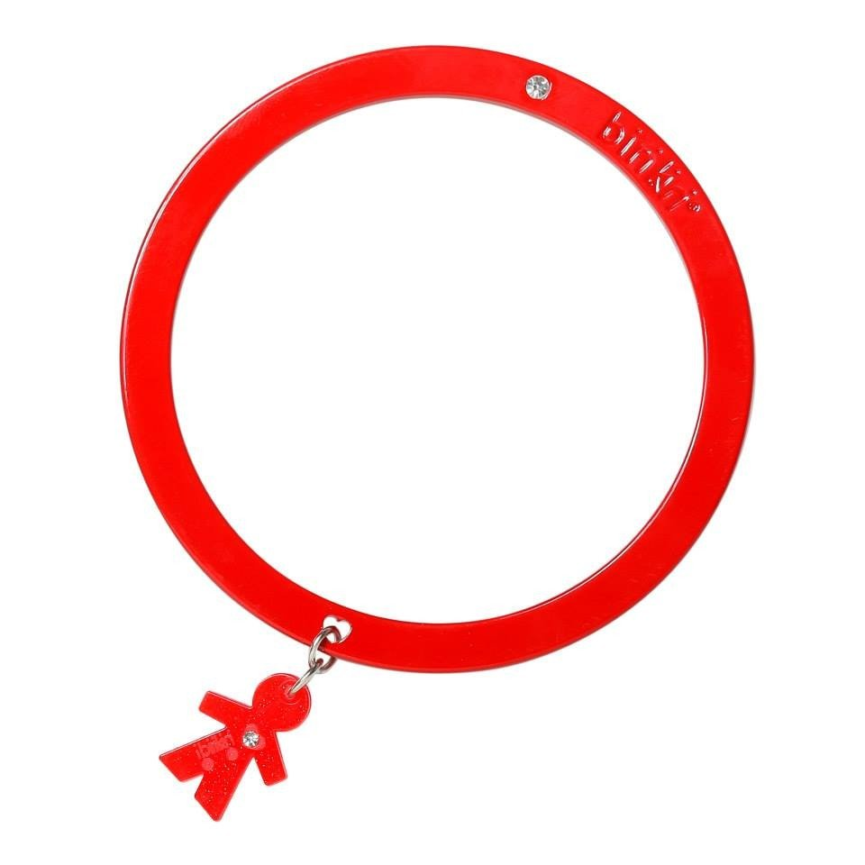 Bracciale linea Passion by Birikini: tinta unita rosso