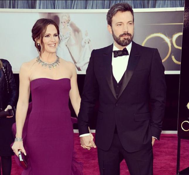 Ben Affleck insieme alla ex-moglie Jennifer Garner