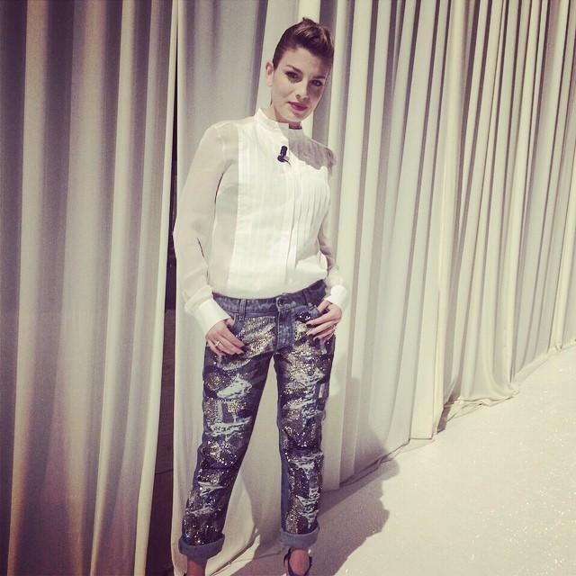 Uno degli outfit di Emma indossato per un serale di Amici 2015