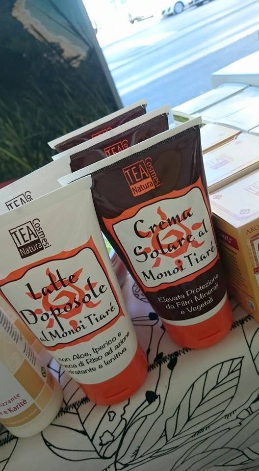 Tea Natura - Crema Solare  e Latte Doposole al Monoi di Tiarè