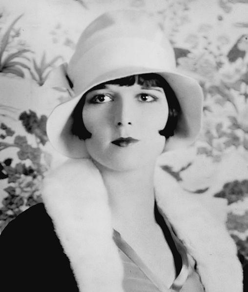 Louise Brooks, un'altra diva degli anni '30 con sopracciglia sottili