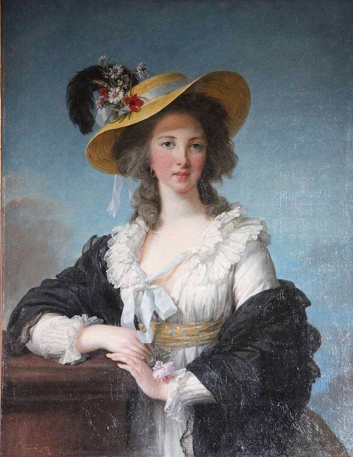 I boccoli della Duchessa di Polignac, grande amica di Maria Antonietta