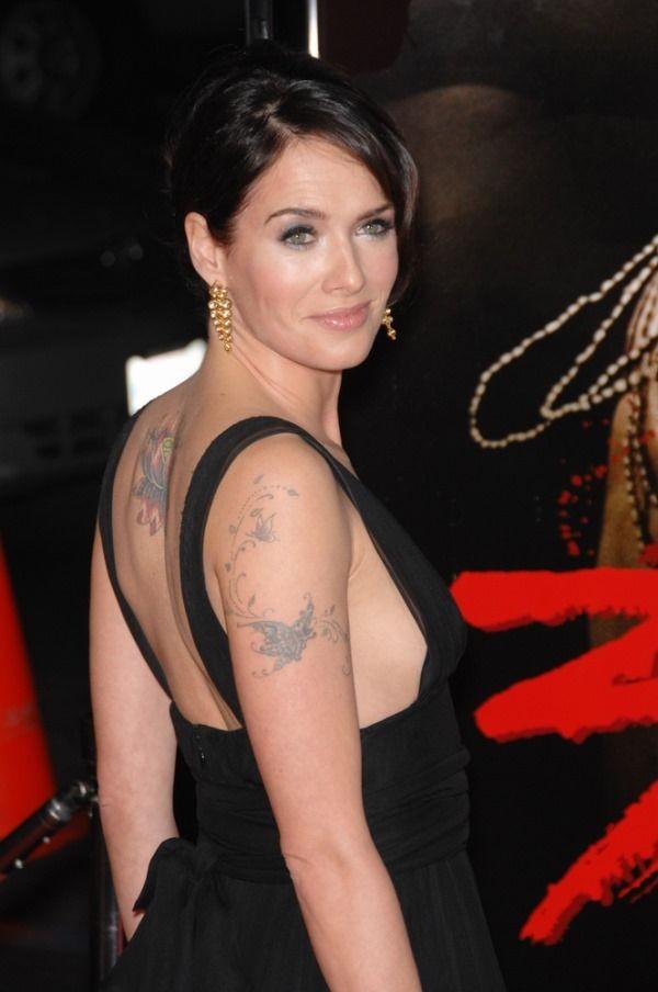 I Molteplici Tatuaggi di Lena Headey