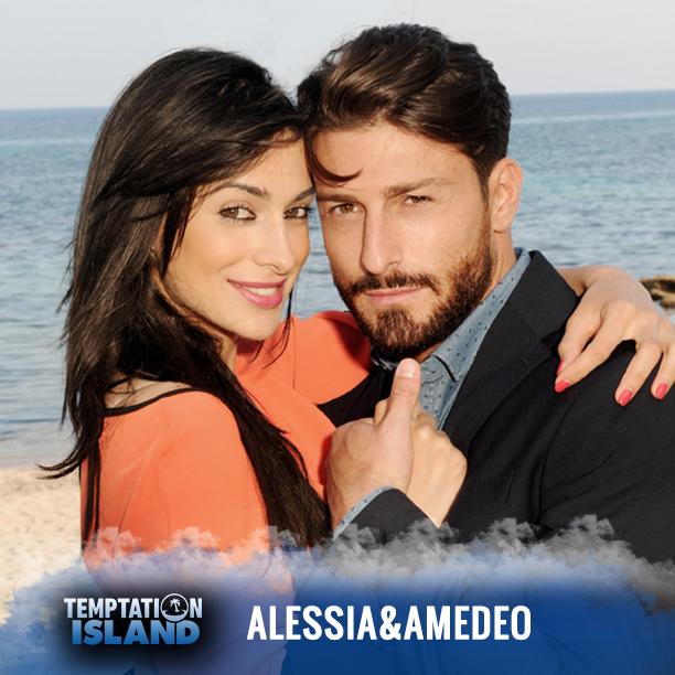 Alessia e Amedeo sono una coppia che si è formata da poco, lui vuole capire se è davvero amore