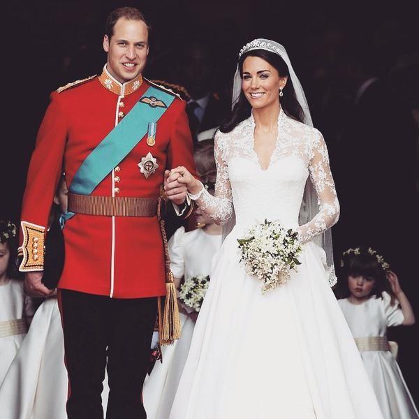 Kate e Harry il giorno delle nozze