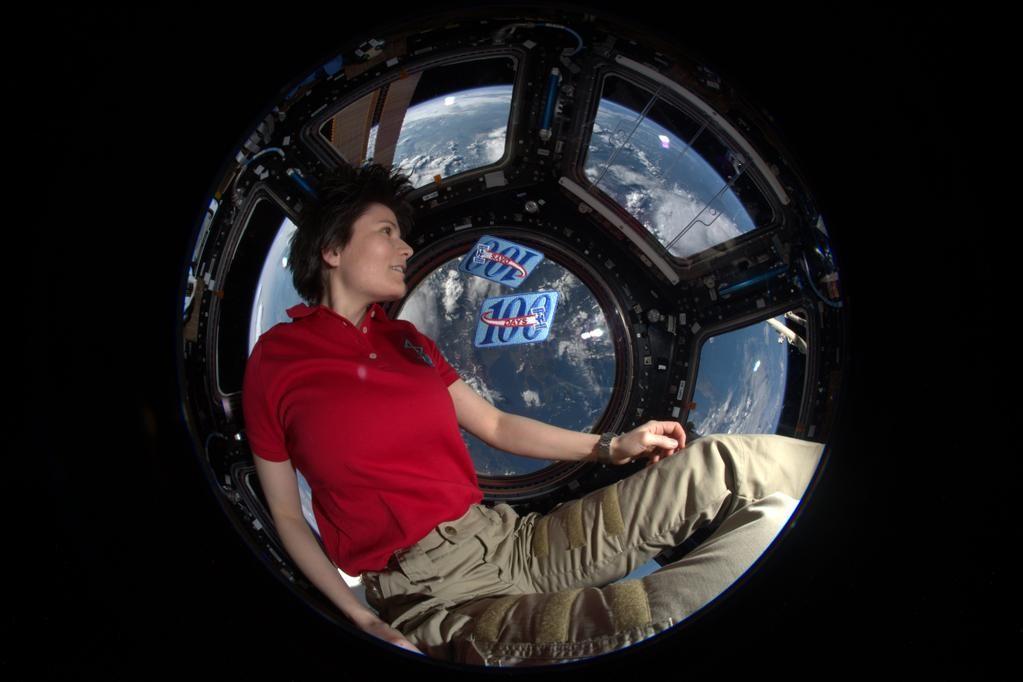 Samantha Cristoforetti - 200 giorni nello spazio...