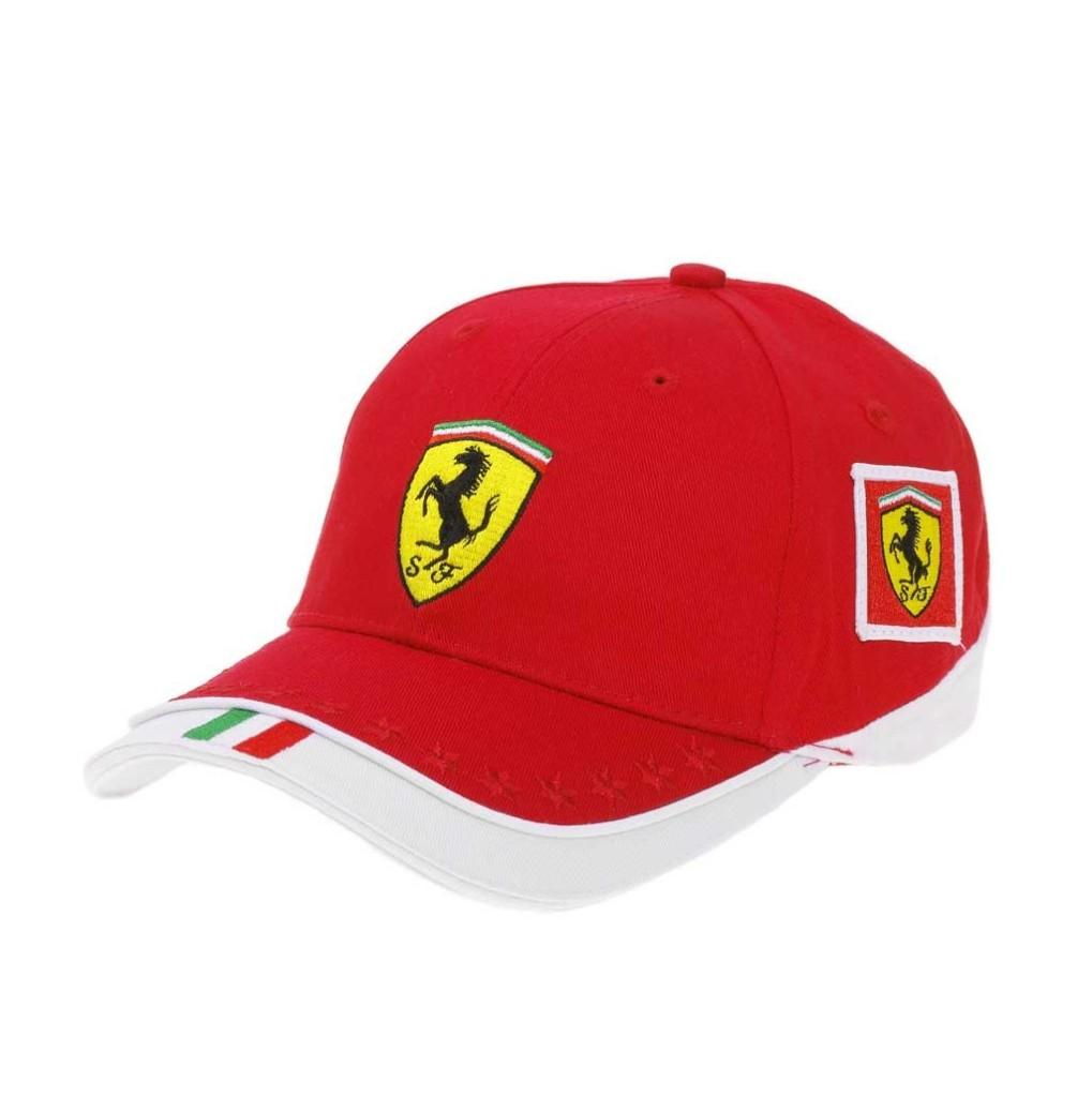 Collezione Ferrari store Berretto con logo