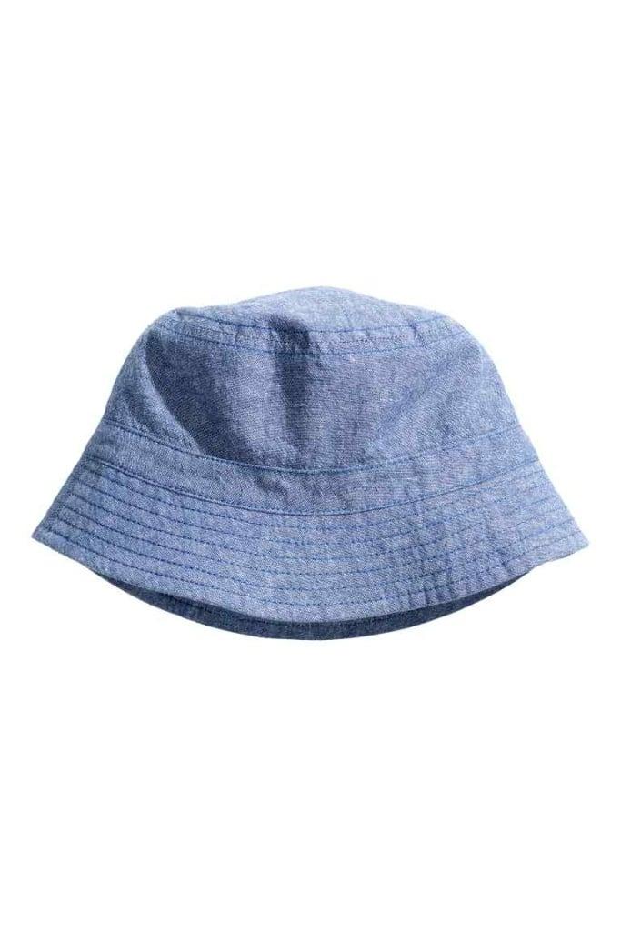Collezione H&M H&M Cappello da pescatore in chambray di cotoneH&M Cappello da pescatore in chambray di cotone
