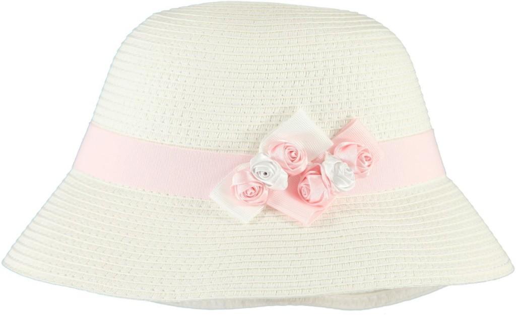 Collezione Sarabanda Cappello in rafia per bambina