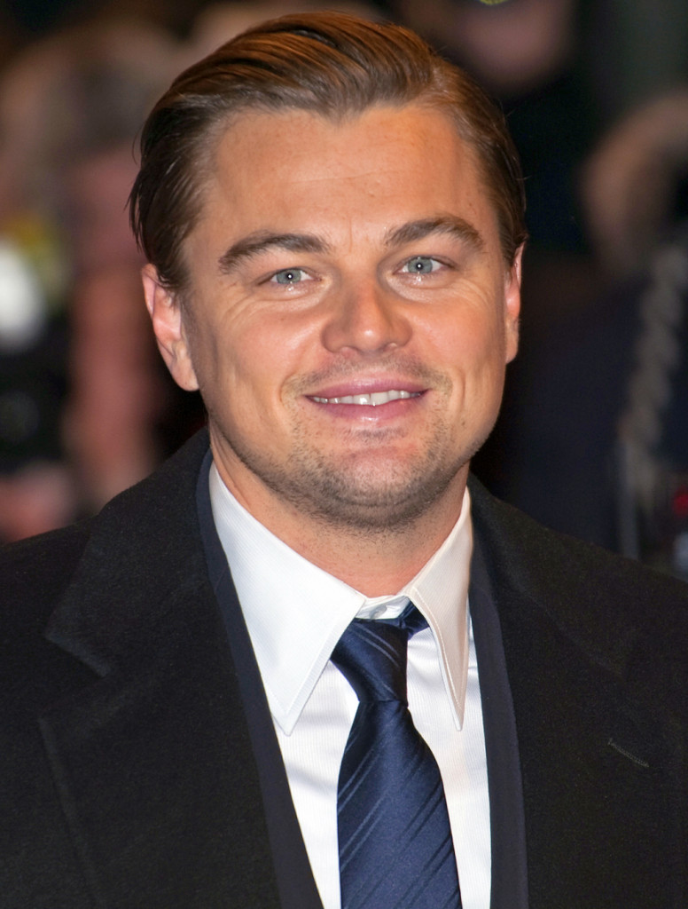 L'attore Leonardo di Caprio, vegetariano convinto