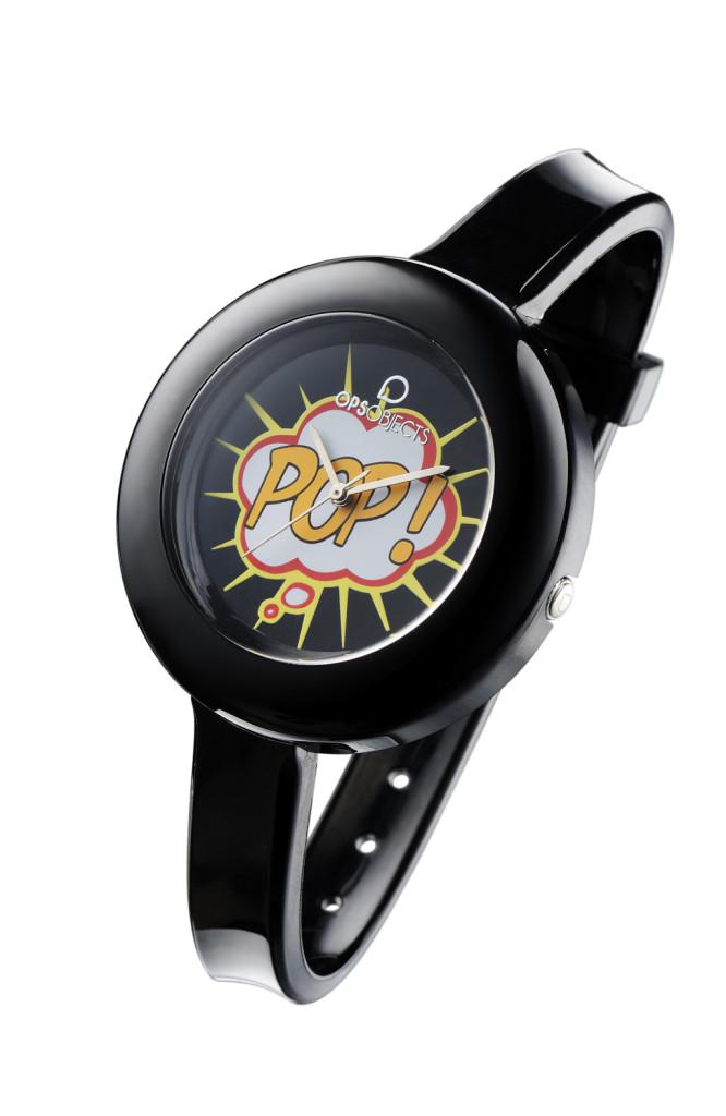OPS! POP orologio nero