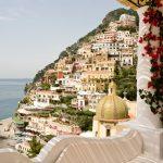Vista su Positano dall'albergo Le Sirenuse