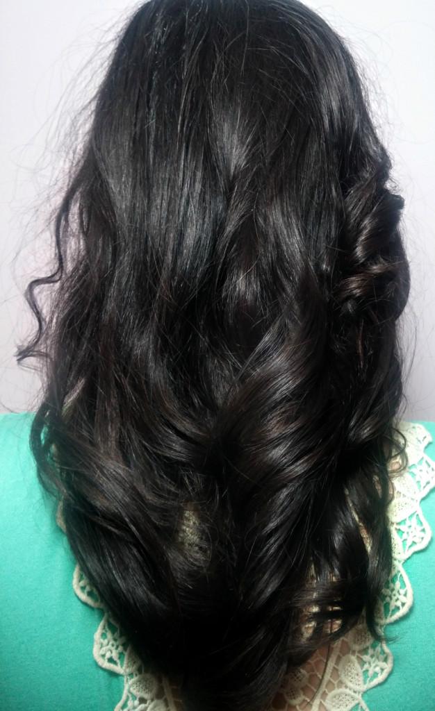 Risultato a capelli sciolti