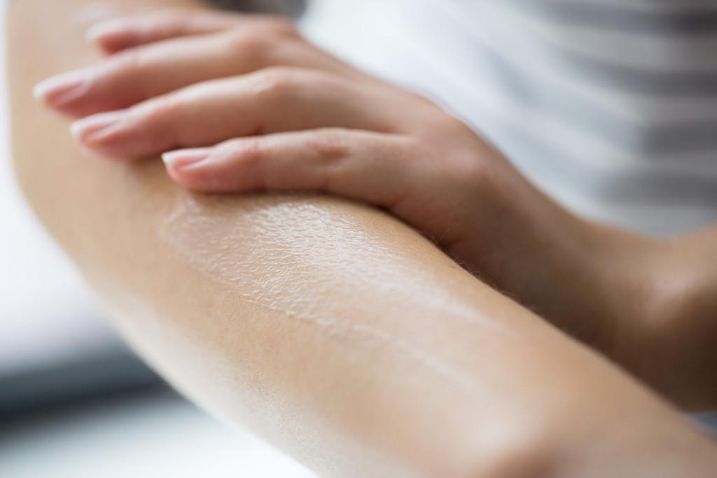L'idratazione è fondamentale per una tintarella omogenea e duratura
