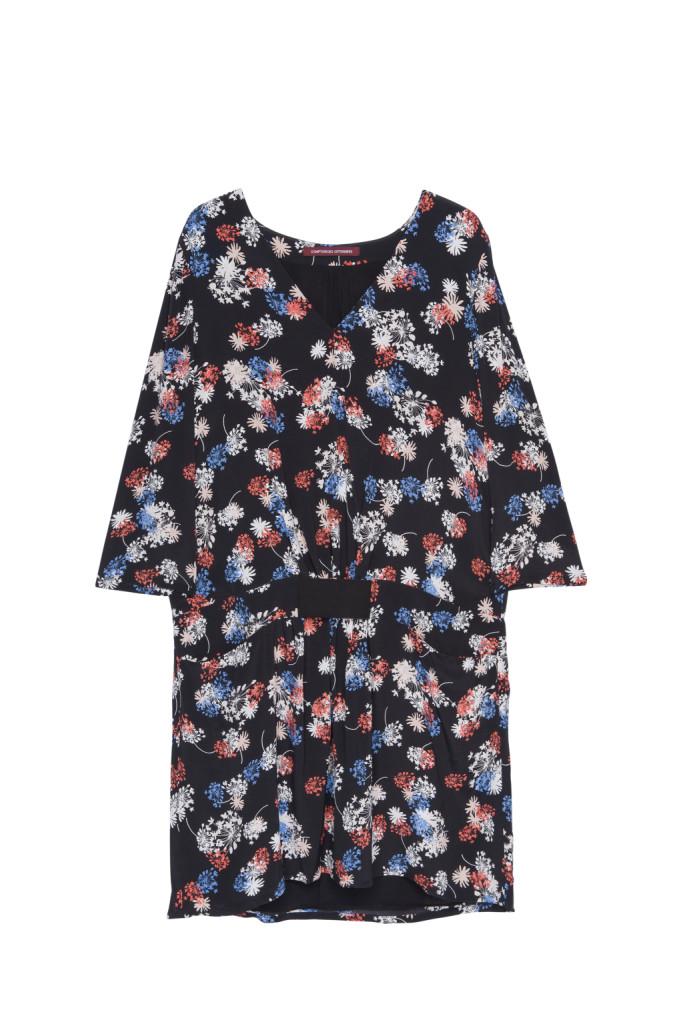 MIni dress con stampa floreale_COMPTOIR DES COTONNIERS