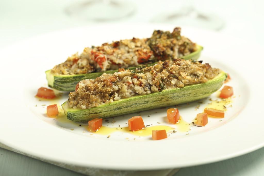 Zucchine ripiene veg