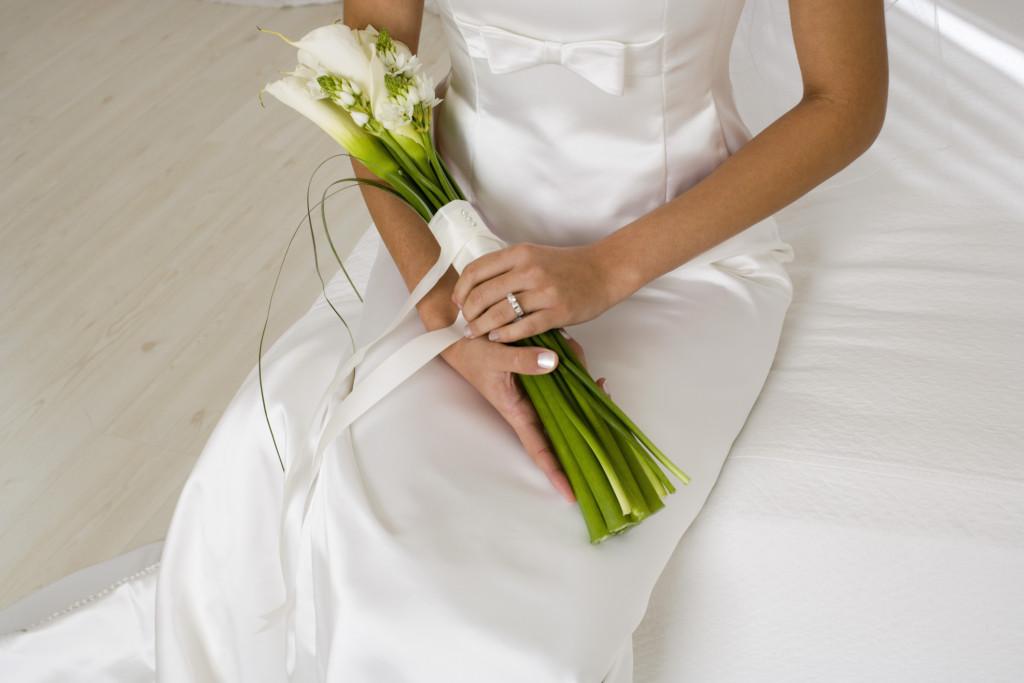 Bouquet Da Sposa Con Calle.Bouquet Da Sposa Bianco Con Calle Unadonna It Il Magazine