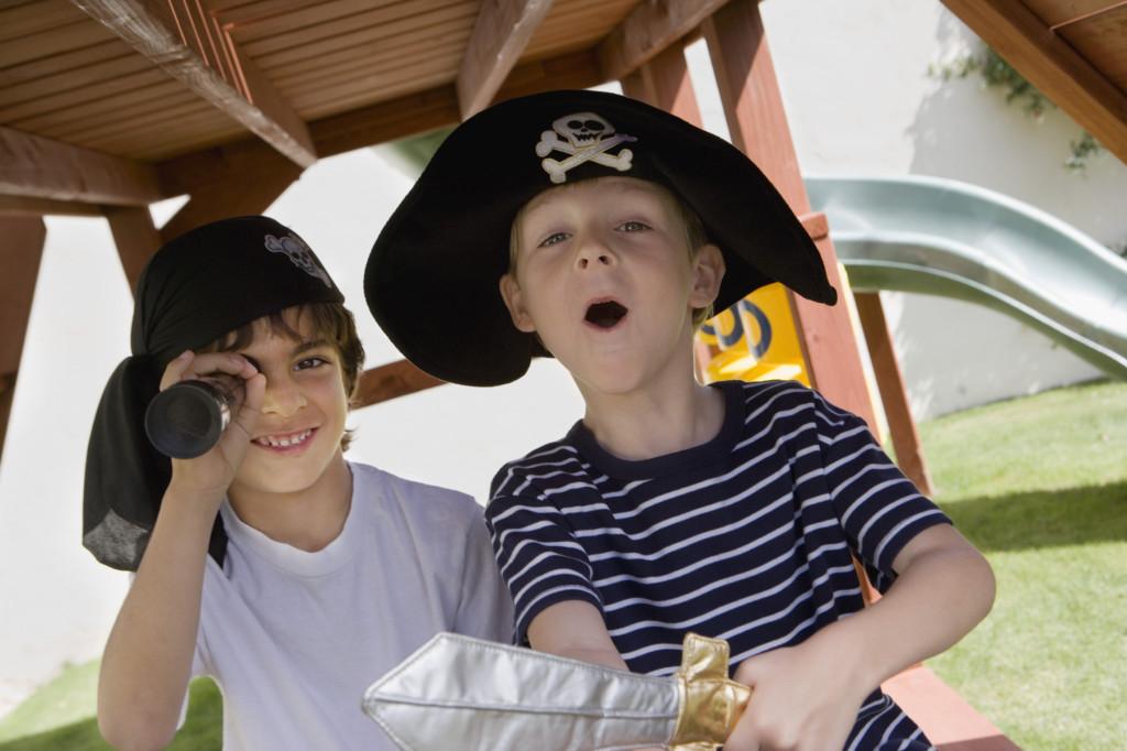ome organizzare un party con tema pirati