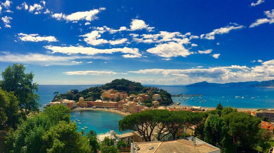 Panorama dal ristorante Olimpo Hotel Vis a Vis Sestri Levante