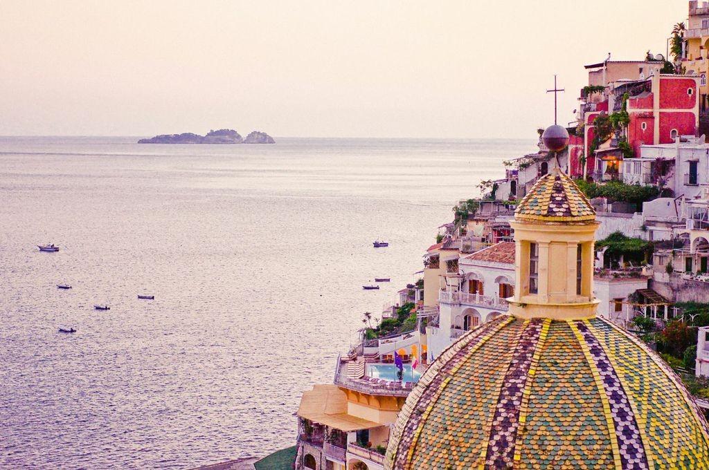 Vista dall'hotel Le Sirenuse