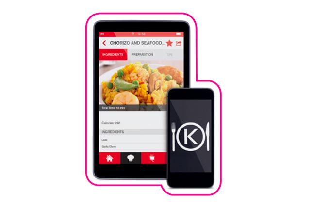 app per ricette kCook di Kenwood
