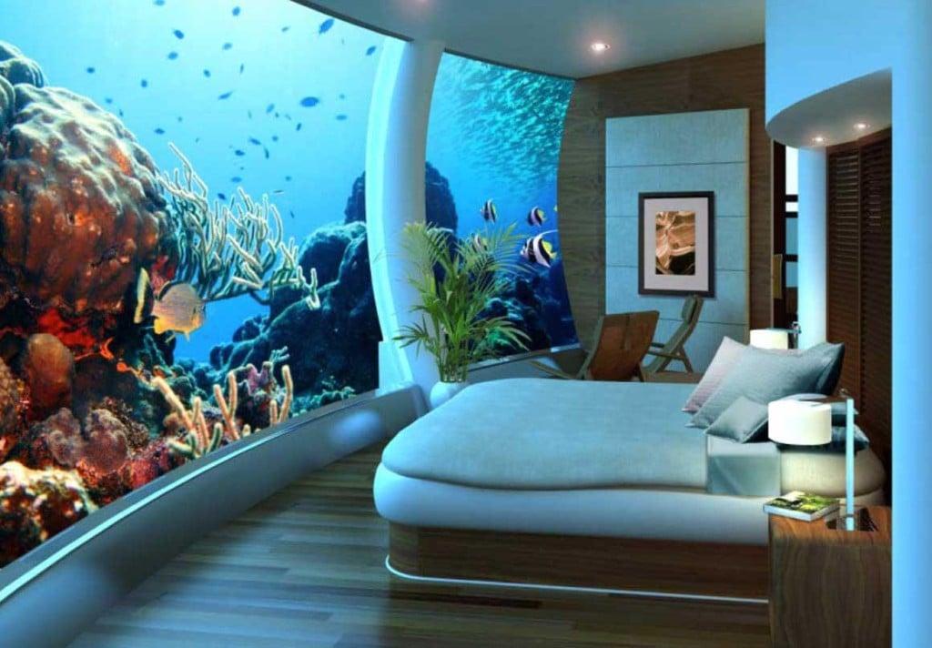 Poseidon Undersea Resort, nei pressi delle isole Fiji, 13 metri sott'acqua