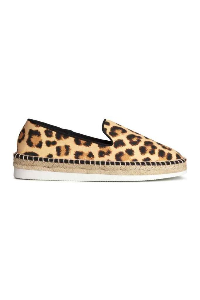 Espadrillas leopardate H&M